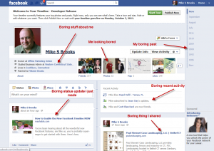 Facebook 2011 F8 Changes Timeline